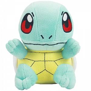 Плюшевая игрушка Покемон Сквиртл Squirtle Pokemon, 16 см