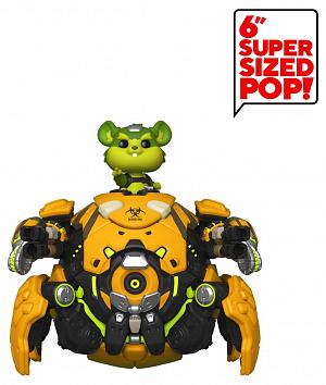 Фигурка Funko POP NYCC Games: Overwatch – Wrecking Ball (Exc) 43375 фото