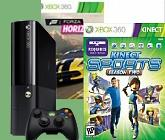 Xbox 360 250 Gb Kinect + Kinect Adventures + Kinect Sports 2 + Forza Horizon