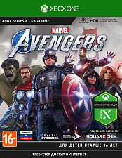 Мстители Marvel (Xbox One) (GameReplay)