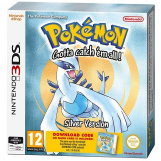 Pokemon Silver Version Код в коробке (3DS)