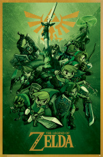 Постер Maxi Pyramid – Nintendo: The Legend Of Zelda (Link) (61 x 91 см)