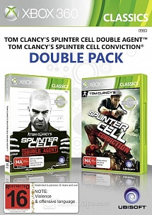 Splinter Cell: Conviction + Double Agent (Xbox360)