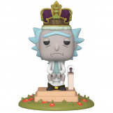 Фигурка Funko POP Deluxe – Rick & Morty: King of $#!+ w/Sound