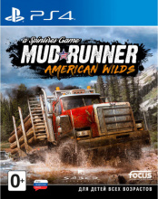 Spintires: MudRunner American Wilds Полное издание (PS4)