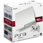 Sony PlayStation 3 Slim 320Gb White (GameReplay)