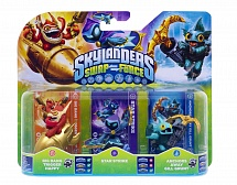 Skylanders Swap Force. Star Strike, Anchors Away Gill Grunt, Big Bang