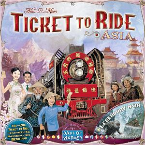 Настольная игра Ticket to Ride – Азия