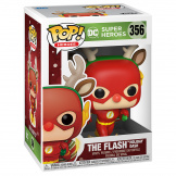 Фигурка Funko POP DC Holiday – Rudolph Flash (50654)