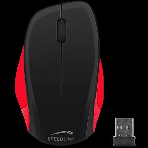 Мышь Speedlink LEDGY Mouse - wireless, black-red фото