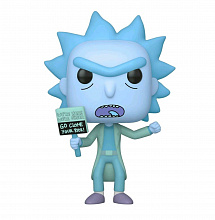 Фигурка Funko POP Rick & Morty – Hologram Rick Clone