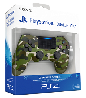 Геймпад Sony DualShock камуфляж v2 (CUH-ZCT2E)