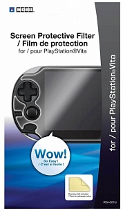 Пленка защитная HORI (Protective Screen Filter) (PS Vita)