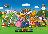 Постер Giant Pyramid – Nintendo: Super Mario (Animated)