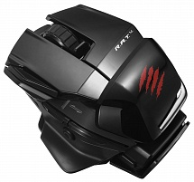 PC Мышь Mad Catz Office R.A.T.M Wireless - Gloss Black беспроводная лазерная (MCB4371700C2/04/1)