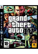 Grand Theft Auto IV (4) (PS3) (GameReplay)