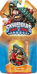 Skylanders: Trap Team Tread Head