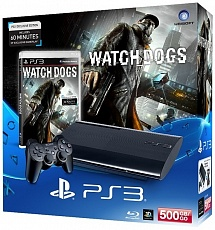 Playstation 3 500Gb + Watch Dogs