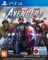 Мстители Marvel (PS4) – версия GameReplay