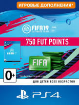 FIFA 19 Ultimate Team - 750 FUT Points (PS4-цифровая версия)