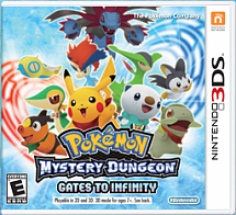 Pokemon Mystery Dungeon: Gates to Infinity (3DS)