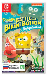 SpongeBob SquarePants: Battle For Bikini Bottom – Rehydrated (Nintendo Switch)
