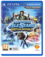 PlayStation All-Stars Battle Royale (английская версия, PS Vita)