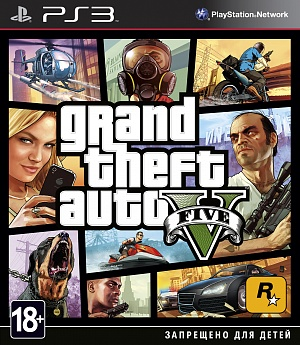 Grand Theft Auto V (PS3) (GameReplay) Rockstar Games