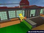 Скриншот Simpsons Skateboarding, 1