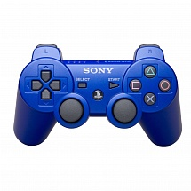 Controller Wireless Dual Shock 3 Blue (В пакете)