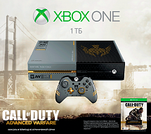 Игровая консоль Microsoft Xbox One 1TB + Call Of Duty: Advanced Warfare