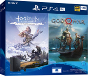 Игровая консоль Sony PlayStation 4 Pro (1TB) + Horizon Zero Dawn + God of War (CUH-7208B)