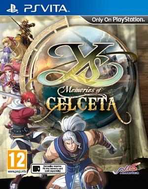 Ys: Memories of Celceta (английская версия, PS Vita)