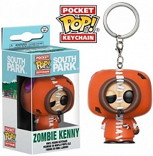 Брелок Funko Pocket POP! Keychain: South Park: Zombie Kenny