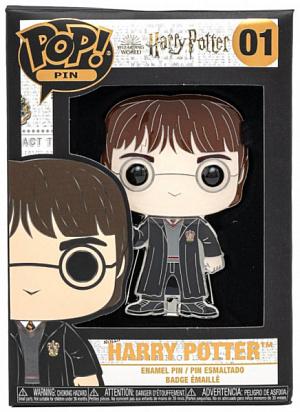 Значок Funko POP Pin Harry Potter – Harry Potter Large Enamel Pin (HPPP0001) (48555)