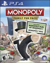 Monopoly Family Fun Pack (английская версия, PS4)