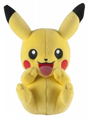 Плюшевая игрушка Покемон Пикачу Pikachu Pokemon, 19 см