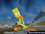 Скриншот Simpsons Skateboarding, 2