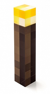 Minecraft: Light-Up Wall Torch