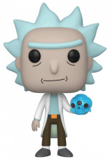 Фигурка Funko POP Rick and Morty – Rick w/Crystal Skull