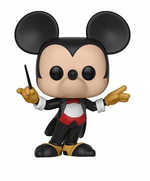 Фигурка Funko POP Disney: Mickey's 90th – Conductor Mickey фото