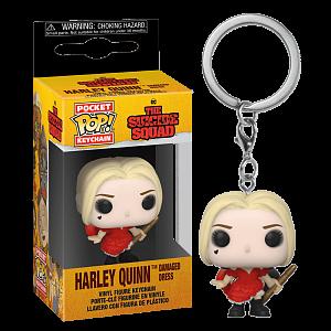 Брелок Funko Pocket POP! Keychain DC The Suicide Squad Harley (Damaged Dress) 56007