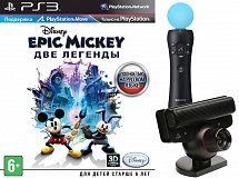 PS Move Starter Pack + Epic Mickey: Две легенды