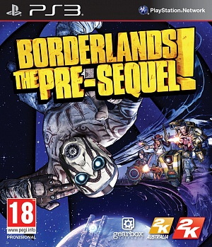 Borderlands: The Pre-Sequel (PS3) (GameReplay) фото