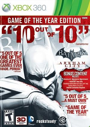 Batman: Аркхем Сити GOTY (Xbox 360)