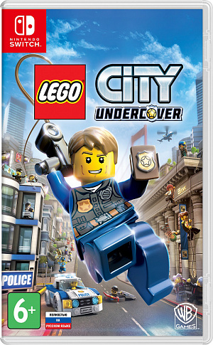 LEGO City Undercover (Switch) фото