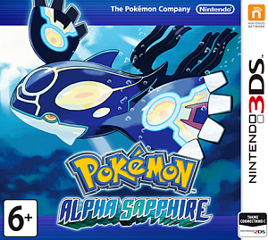 Pokemon Alpha Sapphire (русская версия) + CARD CASE (3DS)