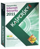 Антивирус Kaspersky Internet Security 2011 (на 2 ПК). Лицензия на 1 год