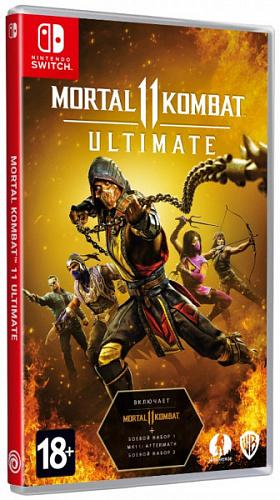 Mortal Kombat 11 – Ultimate. Код загрузки (Nintendo Switch)