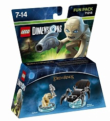 LEGO Dimensions Fun Pack - The Lord of the Ring (Gollum, Shelob the Great)